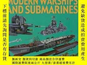二手書博民逛書店Modern罕見Warships and Submarines (Machines Close-Up)-現代軍艦和