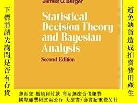 二手書博民逛書店Statistical罕見Decision Theory And Bayesian Analysis-統計決策理論