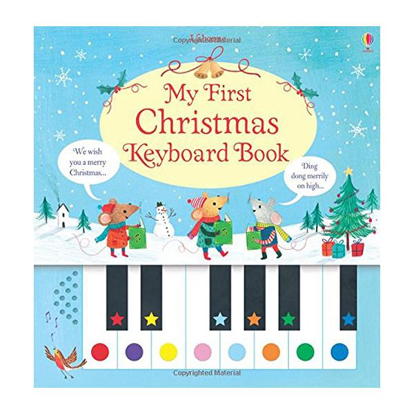 My First Christmas Keyboard Book 我的第一本聖誕鋼琴鍵盤書