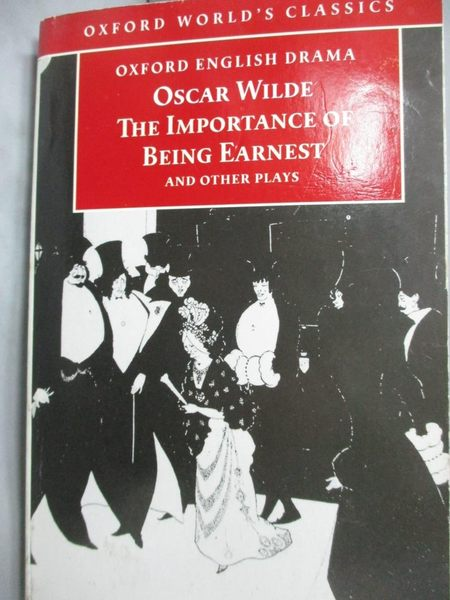 【書寶二手書T4/藝術_LJO】The Importance of Being Earnest and Other Pl