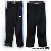 New Balance 童裝 2019新款 黑色 側邊條 運動褲 長褲 童褲 NO.H2545