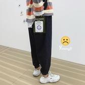 牛仔褲男寬松直筒哈倫褲秋冬韓版工裝百搭長褲子【英賽德3C數碼館】