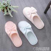 月子拖鞋夏季室內居家包頭居家棉拖鞋女防滑軟底棉麻情侶亞麻拖鞋 概念3C旗艦店