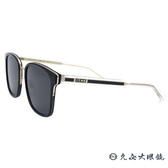 GUCCI 太陽眼鏡 GG0563SK (黑透明-黑邊) 方框 墨鏡 久必大眼鏡