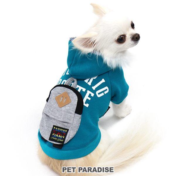 【PET PARADISE 寵物精品】Field Glide 假二件背包連帽上衣/綠 (3S/DS/S) 狗衣服 寵物衣服 春季新品