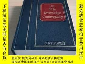 二手書博民逛書店Bible罕見Knowledge Commentary: Old