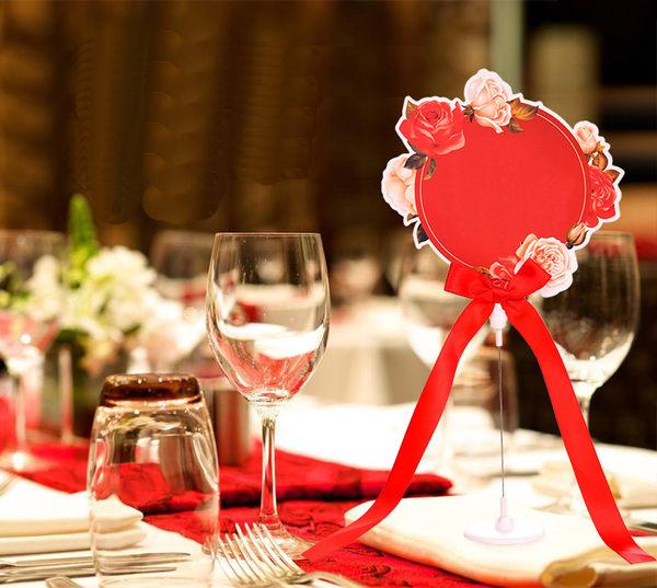 一定要幸福哦~~空白西式桌卡、宴席桌卡,宴客、喜宴、紅包袋