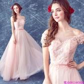 (45 Design)  客製化顏色尺寸領新娘長款婚紗晚宴年會演出主持人禮服2