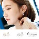 S925純銀高貴典雅設計耳環-維多利亞160420