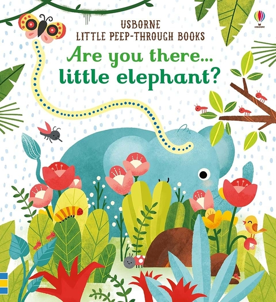 Little Peep-Through Books:Are You There Little Elephant? 大象在哪裡? 趣味探索書