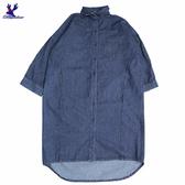 【三折特賣】American Bluedeer - 長版牛仔洋裝(特價)  秋冬新款