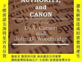 二手書博民逛書店Hermeneutics,罕見Authority, And CanonY255562 Carson, D. A