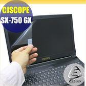 【Ezstick】CJSCOPE SX-750 GX 靜電式筆電LCD液晶螢幕貼 (可選鏡面或霧面)