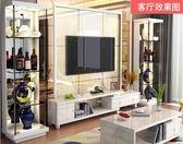電子紅酒櫃 頂冠 現代簡約酒櫃 紅酒裝飾品擺件小客廳邊櫃隔斷展示櫃玻璃酒櫃 免運 DF