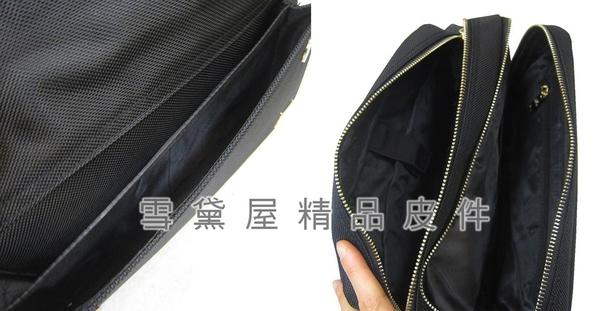 ~雪黛屋~SANDIA-POLO 斜側包中容量二層主袋8吋平板套進口防水尼龍布BSP10181801300(中)