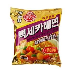 (2020)韓國OTTOGI不倒翁咖哩拉麵100g-單包【合迷雅好物超級商城】