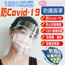 防護面罩 防飛沫面罩 防疫面罩 攜帶輕巧 雙面抗霧 高清通透 現貨不用等(除霧款)-KAGAWA