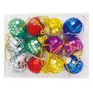 聖誕球吊飾 (12入盒裝) | OS小舖