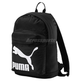 Puma 後背包 ORIGINALS BACKPACK 經典 基本款 中性 雙肩背 反光 書包 背包 黑白 黑 白 【PUMP306】 07479901