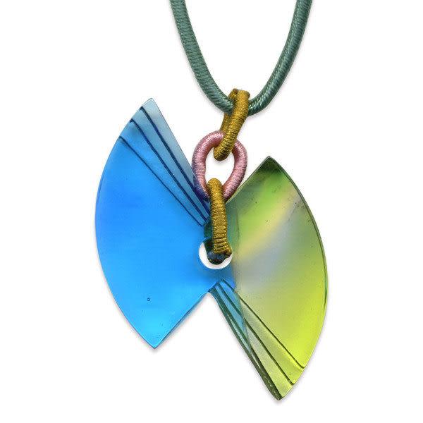 鹿港窯~居家開運水晶琉璃項鍊~煽動◆附精美包裝◆免運費送到家