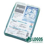 【日本LOGOS】倍速凍結超凍媒-M 約600g 冷媒 冰桶 冰磚保冷劑 保冷磚 環保冰塊 露營 81660642