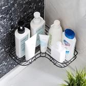 免打孔轉角置物架衛生間洗漱架 浴室無痕壁掛三角架收納架ATF 格蘭小舖