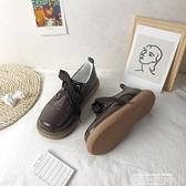娃娃鞋 日系軟妹新款可愛圓頭娃娃鞋復古學院風厚底ins小皮鞋森女冬 萊俐亞 交換禮物