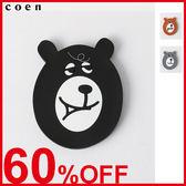 化妝鏡 小鏡子 隨身鏡 coen Bear 日本品牌【coen】