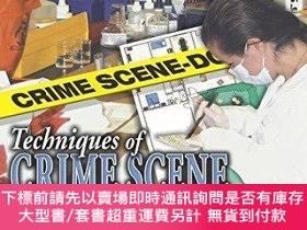 二手書博民逛書店Techniques罕見Of Crime Scene InvestigationY255174 Barry A