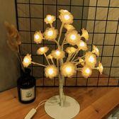 led星星燈小台燈宿舍房間裝飾燈唯美棉線球造型燈  樂活生活館