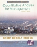 二手書博民逛書店 《Quantitative Analysis for Management (Eighth Edition)》 R2Y ISBN:0130495433│B
