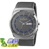 [104美國直購] Skagen 男士手錶 SKW6078 Melbye Grey Titanium Watch with Mesh Strap $6031