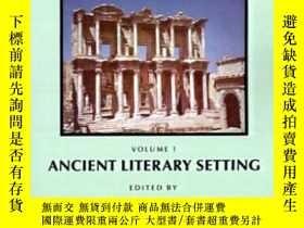 二手書博民逛書店The罕見Book Of Acts In Its Ancient Literary SettingY25556