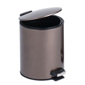 HOLA 里昂金屬緩降垃圾桶-5L