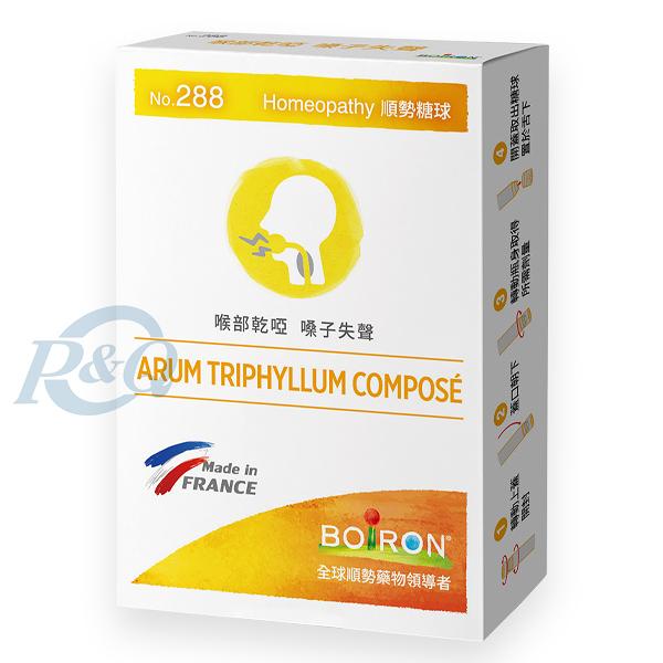 BOIRON 順勢糖球 NO.288 (ARUM TRIPHYLLUM COMPOSE) 80粒/盒 (法國布瓦宏 順勢療法) 專品藥局【2013735】