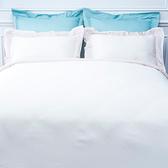 (組)雅緻天絲素色特大床被組米白