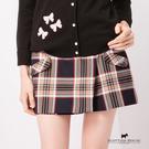 前口袋造型格紋短褲 Scottish H...