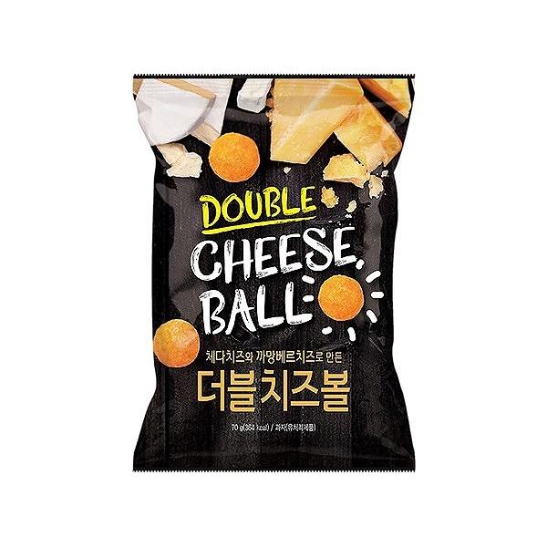 韓國 HF DOUBLE CHEESE起司風味球(70g)【小三美日】