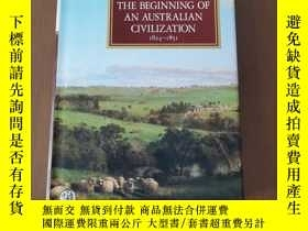 二手書博民逛書店A罕見HISTORY OF AUSTRALLA VOLUME III THE BEGINNING OF AN AU