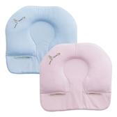 奇哥 比得兔透氣推車枕(粉/藍)