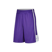 Nike AS LEAGUE REV SHORT [703218-545] 男 籃球 短褲 透氣 排汗 雙面 紫白