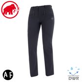 【MAMMUT 女 Trekkers 2.0 AF 長褲《黑》】1021-00420/軟殼褲/登山褲/運動褲/機能褲/防潑水