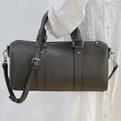 真皮側背包-實用大容量牛皮斜背女手提包3色74af45[巴黎精品]