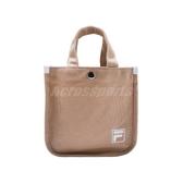 Fila 斜背包 2 Way Bag 棕 白 奶茶色 男女款 兩用 手提包 帆布包 韓系 運動休閒 【ACS】 BMU3014KK