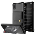 King*Shop~iphone XS Max車載磁吸卡套6/7/8 Plus iphoneX/XS防摔保護套XR蘋果11系列