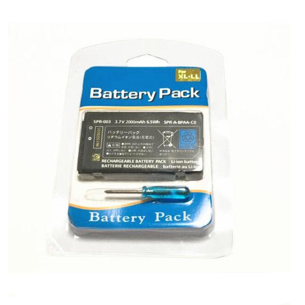 3DS LL 電池 2000mAh DIY 維修 零件 配件
