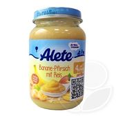 Alete 香蕉桃子米飯泥(190g)【佳兒園婦幼館】