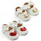 可愛寶寶公主鞋 愛心亮片鞋 蝴蝶結鞋 女寶寶學步鞋 百搭嬰兒鞋 小花童鞋 88304