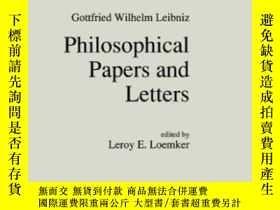 二手書博民逛書店Philosophical罕見Papers And Letter