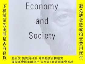 二手書博民逛書店Economy罕見and Society(Wirtschaft Gesellschaft):a new trans